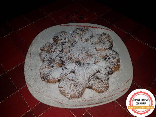 Stella di Natale alla nutella