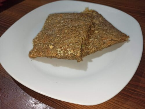 Frittata con lenticchie al forno