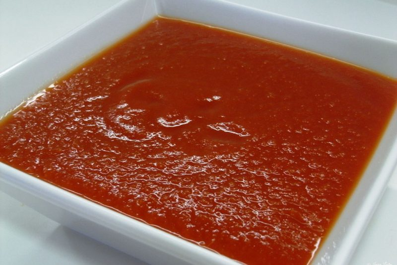 La Pomarola , salsa vegetariana