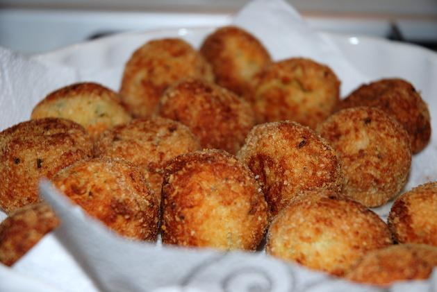 Aubergine meatballs 10