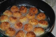 Aubergine meatballs 9