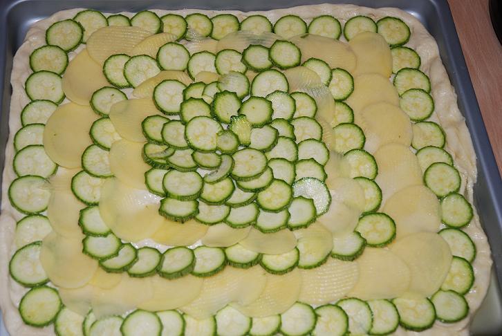 Pizza zucchini 1