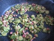 Gnocchi zucchine pancetta 5