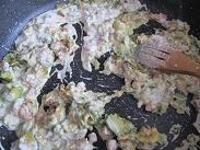 Gnocchi zucchine pancetta 6
