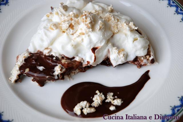 meringata pere cioccolato e torrone 9