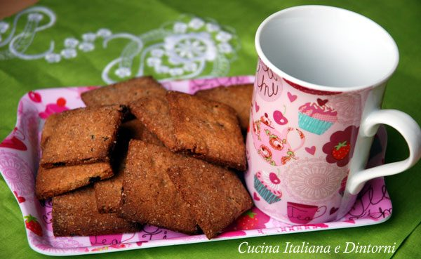 Biscotti integrali con mirtilli rossi