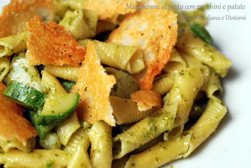 Maccheroni-pesto-zucchine-p