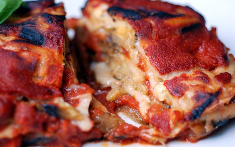 Melanzane alla Parmigiana con Mozzarella Vegan