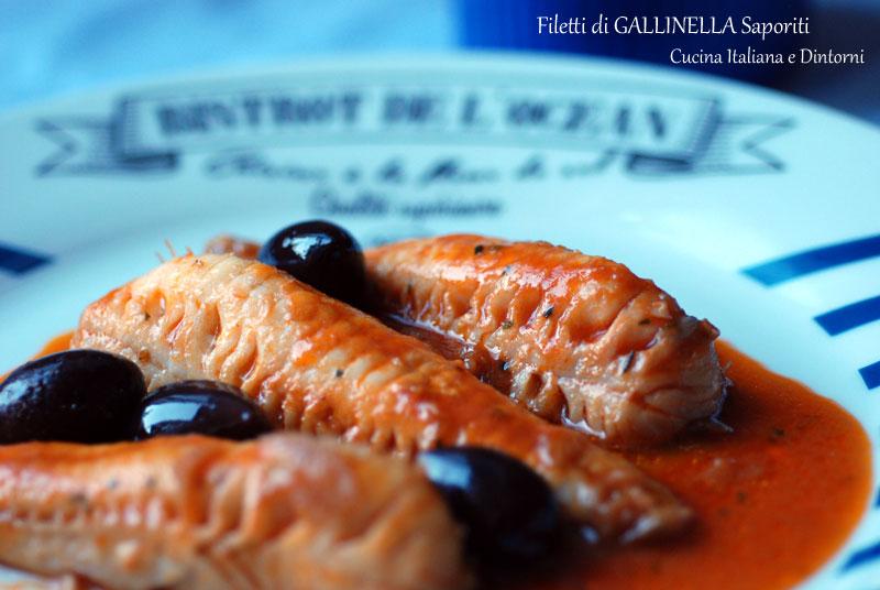 filetti di gallinella al pomodoro, ricetta semplice - Come Cucinare Filetti Di Gallinella