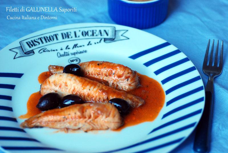 Filetti di gallinella al pomodoro, ricetta semplice