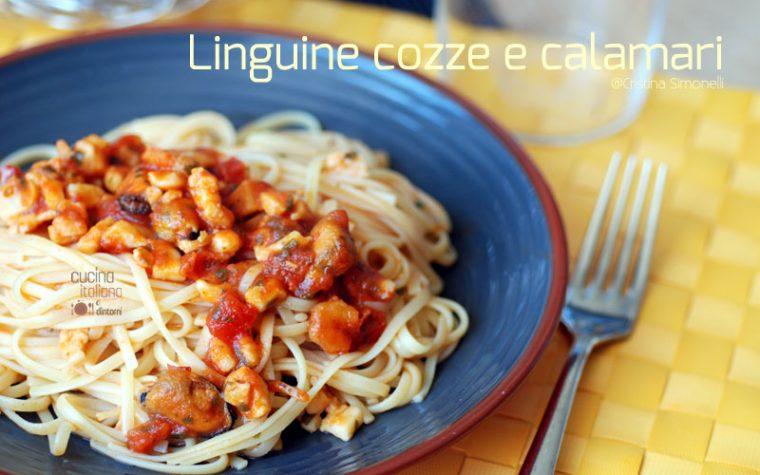 Linguine Cozze  e Calamari, ricetta facile e veloce