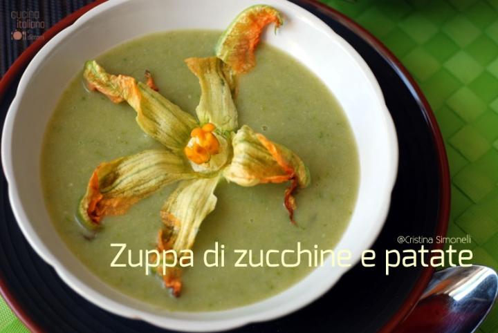 zuppa di zucchine e patate