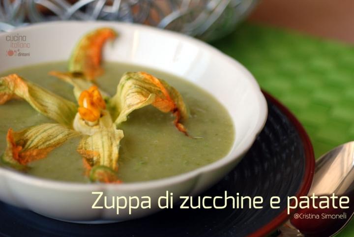 zuppa di zucchine e patate 2