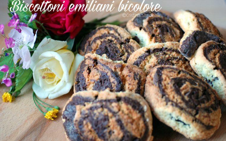 Biscottoni emiliani bicolore, la ricetta di Anna Moroni