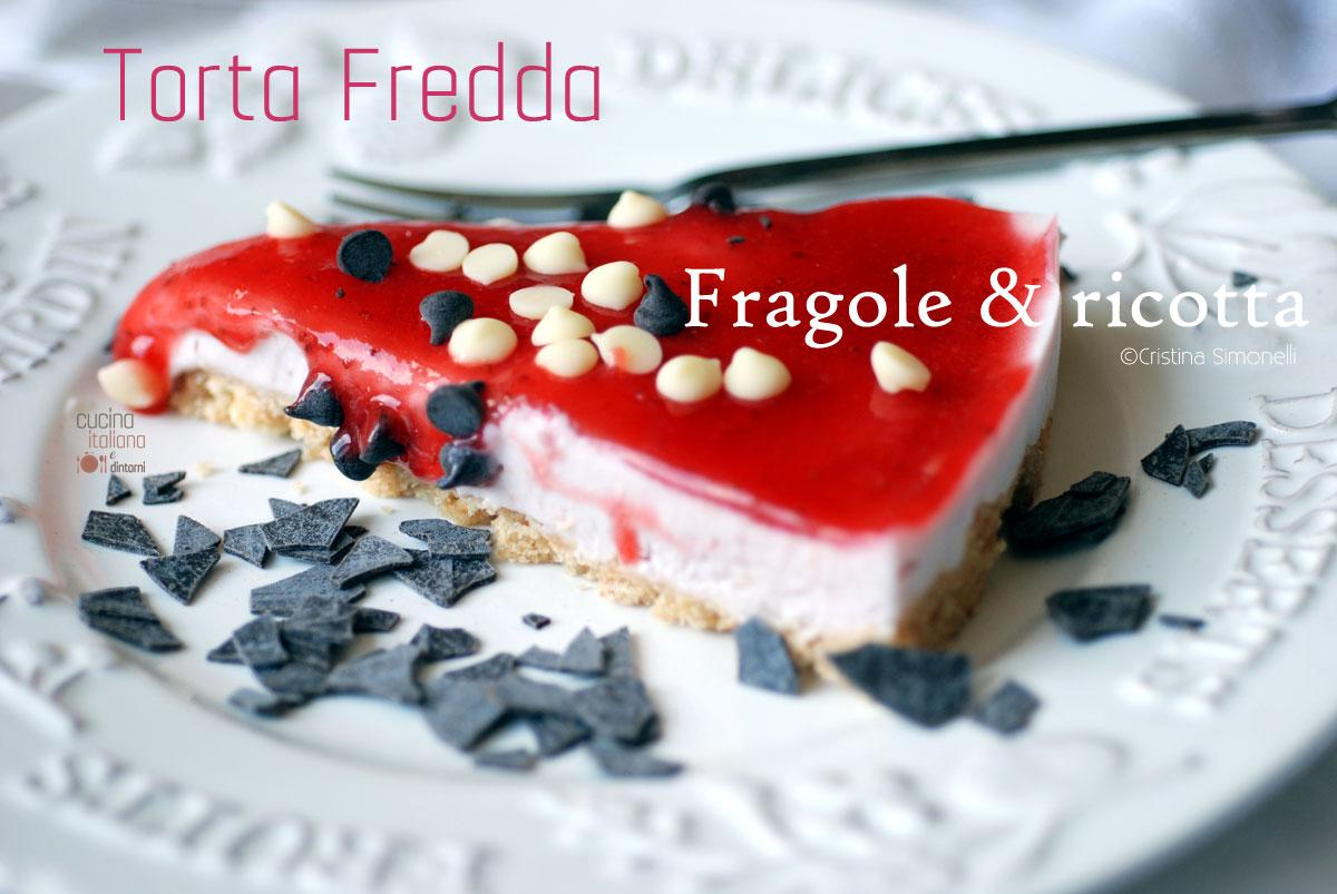 torta-fredda-fragole-ricott