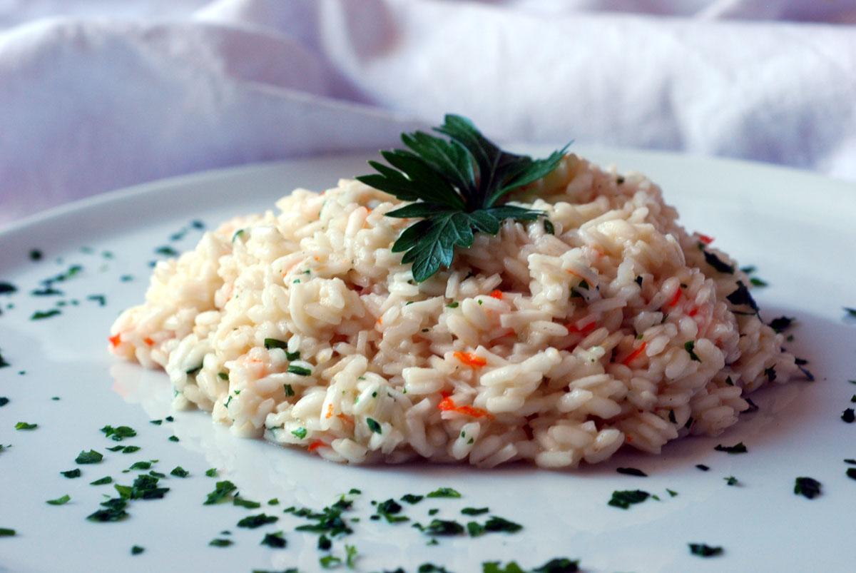 Risotto al surimi, ricetta veloce e saporita