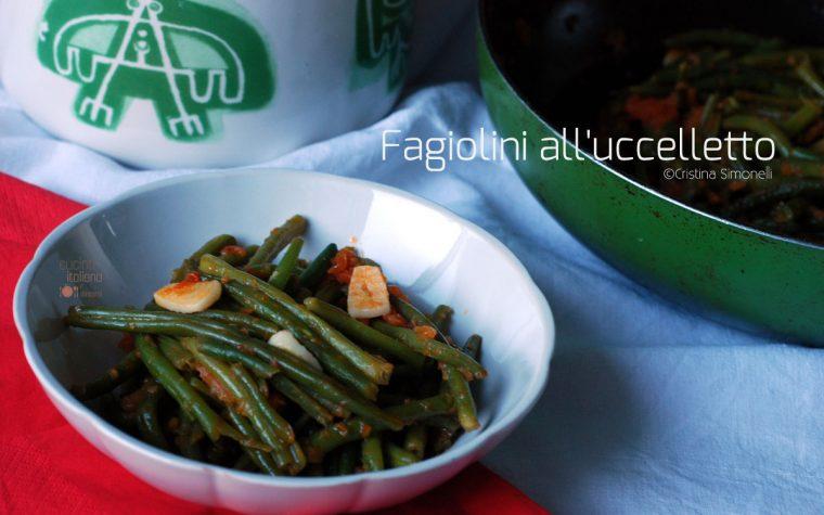 Fagiolini all'uccelletto, ricetta vegana