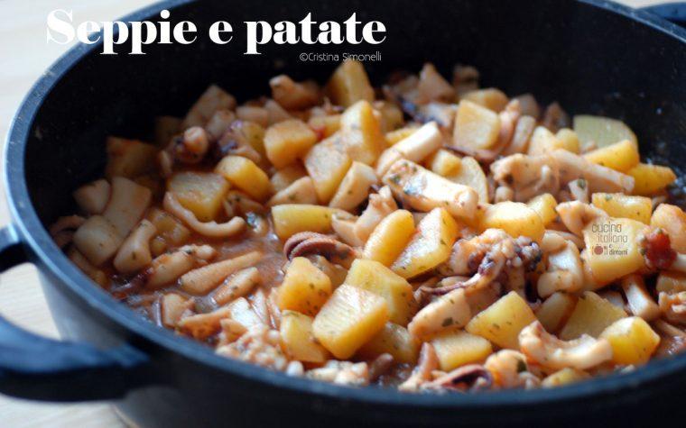 Seppie con patate, ricetta facile e velocissima!