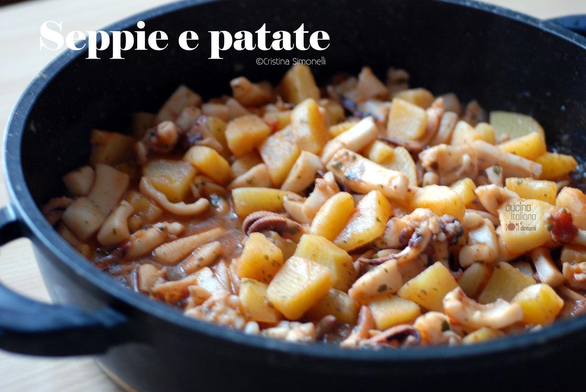 Seppie e patate, ricetta facile e velocissima!