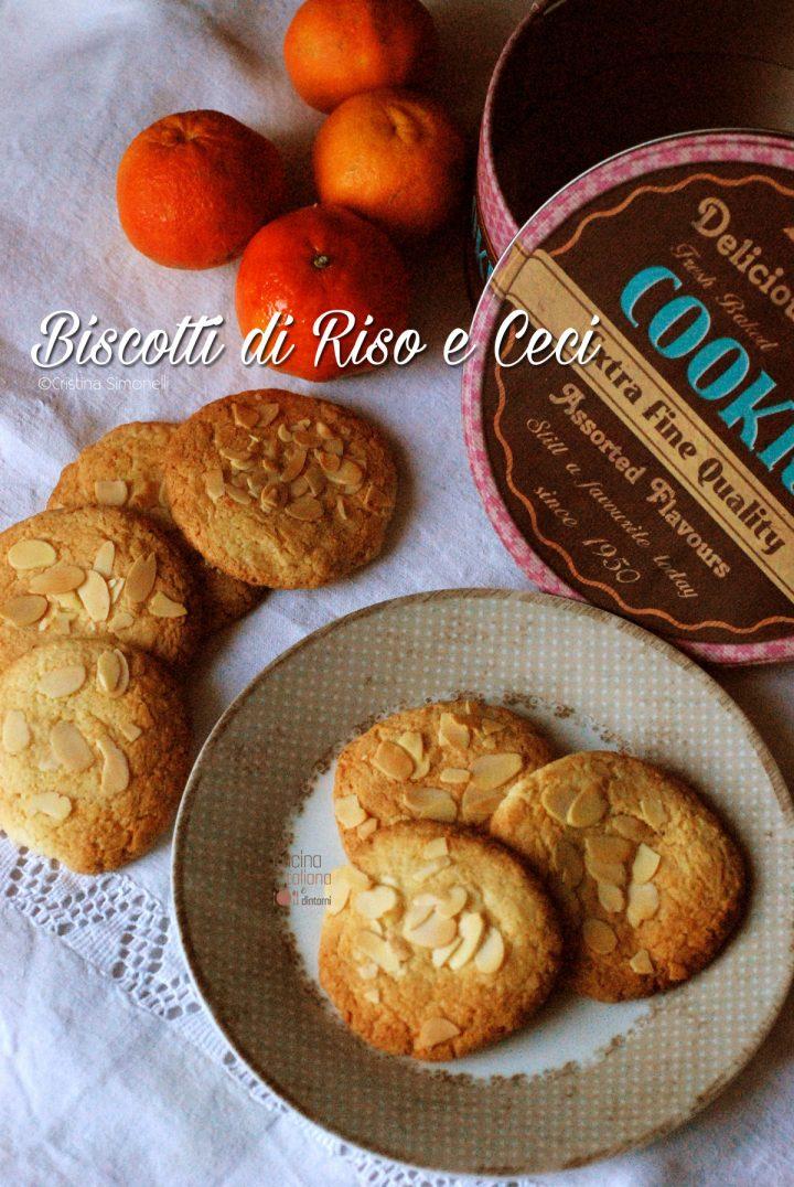 Biscotti di ceci, mandorle e farina di riso 1