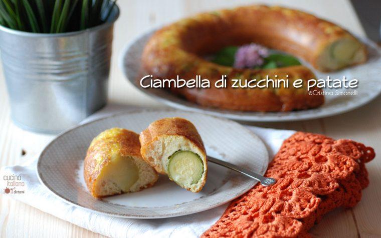 Ciambella di zucchine e patate, ricetta facile e veloce