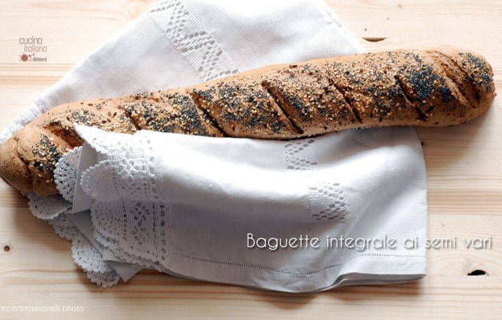 Baguette integrale ai semi vari