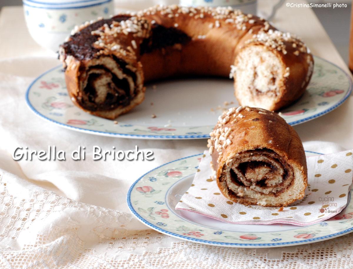 Girella di brioche cucina italiana e dintorni for Sito cucina italiana