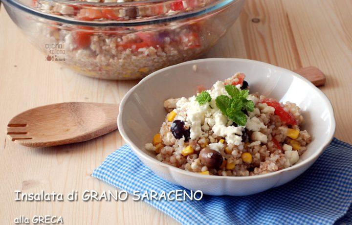 Insalata di grano saraceno alla greca