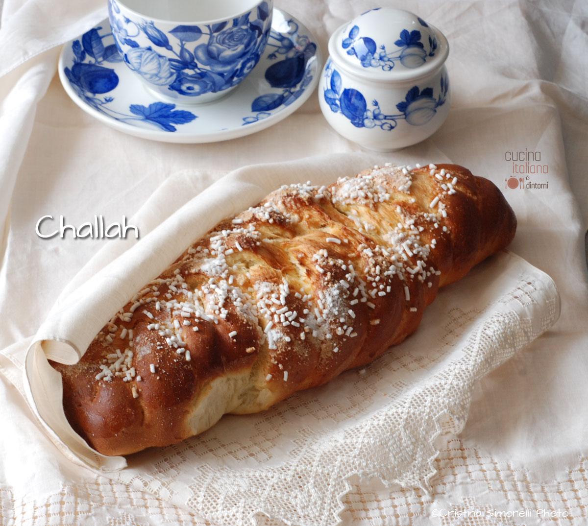 Challah dolce per la prima colazione cucina italiana e for Sito cucina italiana