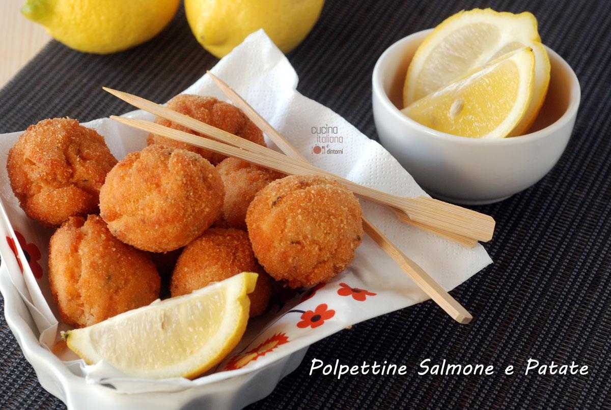 Polpette di salmone e patate cucina italiana e dintorni for Sito cucina italiana