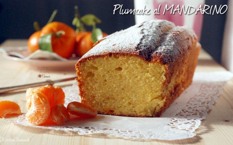 Plumcake al mandarino, senza burro