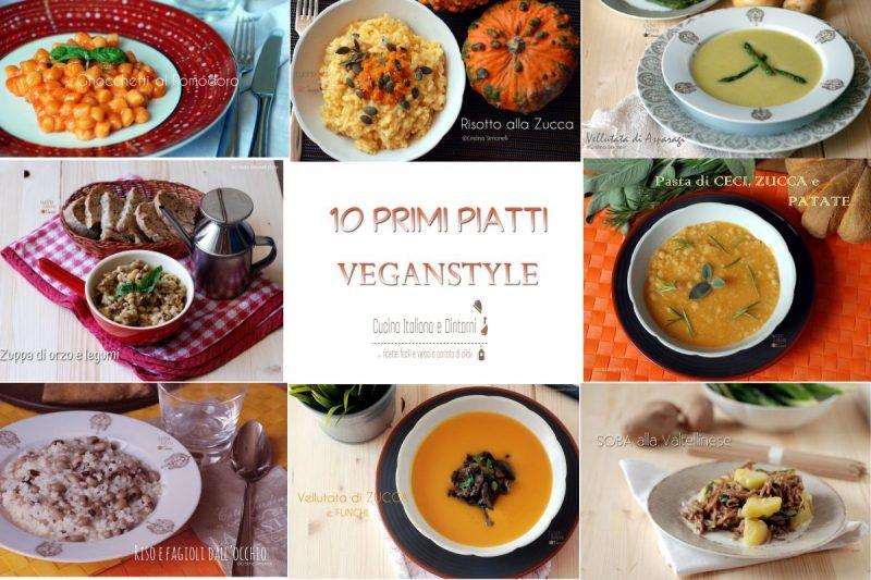 10 Ricette di primi piatti Vegan