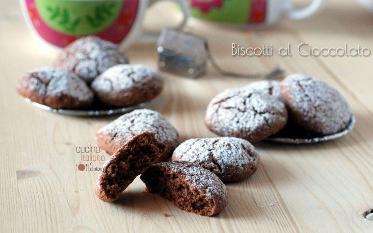 Biscotti al cioccolato, facili e veloci!