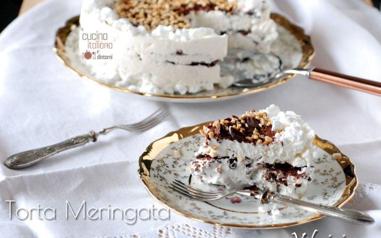 Torta  Meringata velocissima pronta in 15 minuti