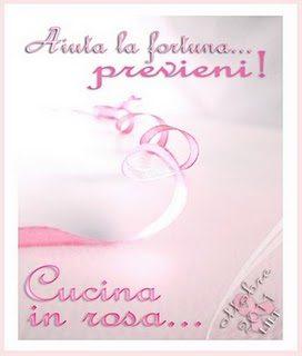 CONTEST CUCINA IN ROSA…. PREVIENI!!!