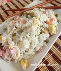 riso alla cantonese a modo mio - nella cucina di laura