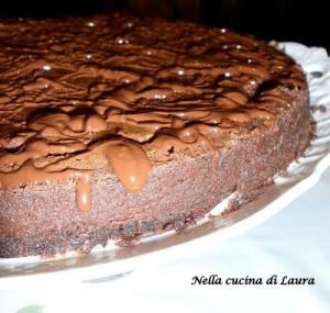 cheesecake al triplo cioccolato di Nigella e profumo di cannella - nella cucina di laura