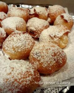 tortelli di carnevale all'uvetta - nella cucina di laura