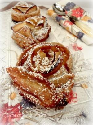 rose di mele - nella cucina di laura