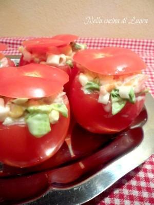 pomodori ripieni - nella cucina di laura