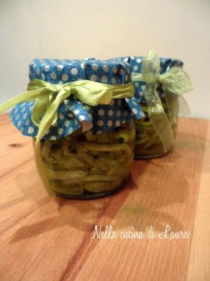zucchine sott'olio - nella cucina di laura