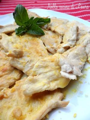 scaloppine di pollo  - nella cucina di laura