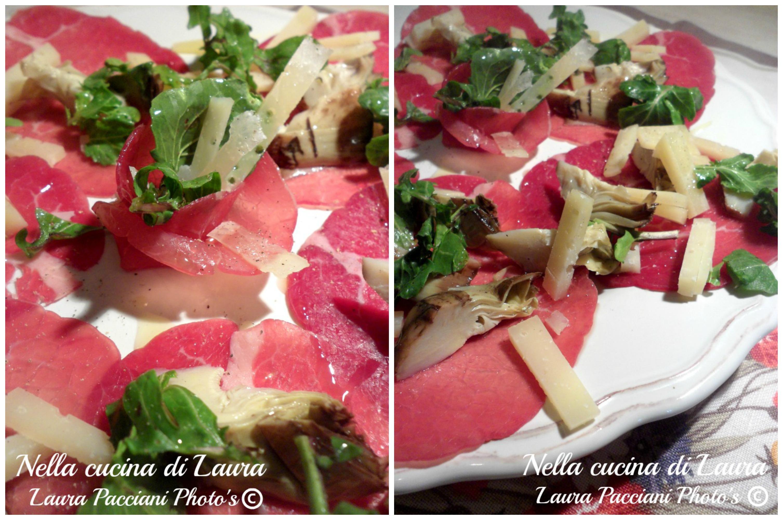 bresaola_carciofi_pecorino_cucinalaura