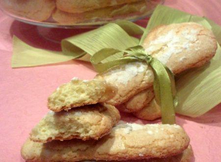 SAVOIARDI …. e la mia bellissima biscottiera Vega