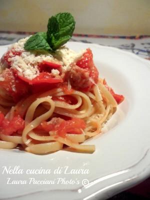 linguine_piccadilly_salsiccia_cucinalaura