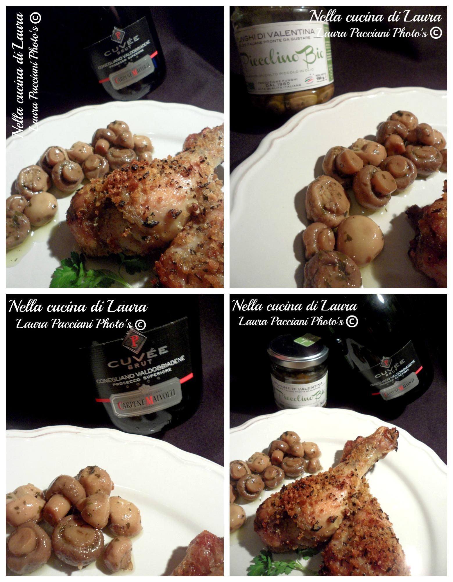 cosce di pollo croccanti al forno - nella cucina di laura