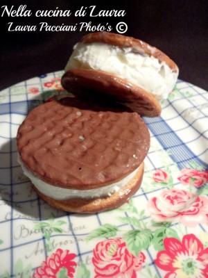 biscotto gelato alla banana - nella cucina di laura