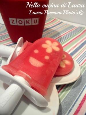 ghiacciolo al succo di arancia rossa - nella cucina di laura