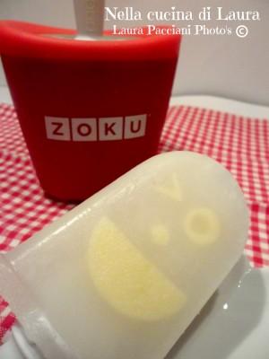 ghiacciolo al limone - nella cucina di laura