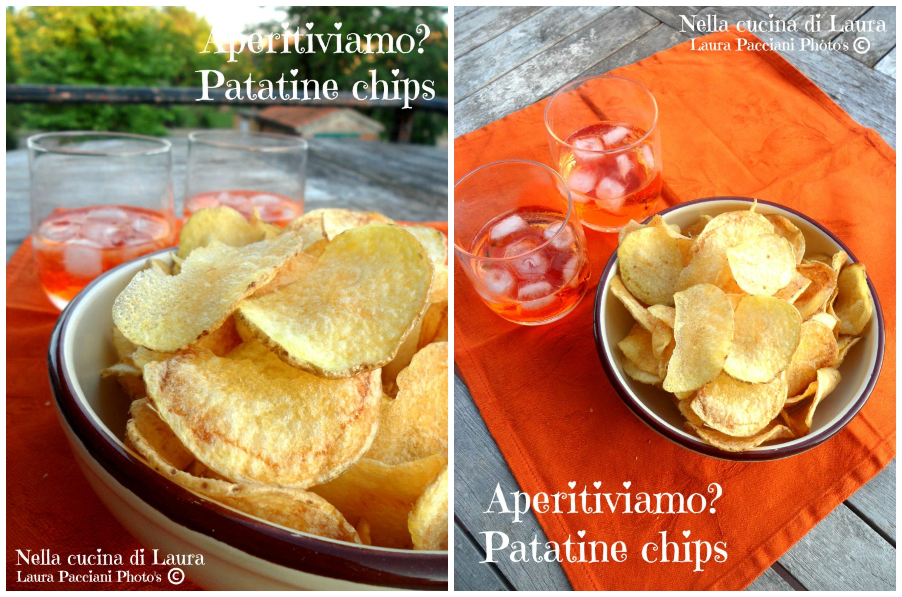 aperitiviamo? patatine chips - nella cucina di laura